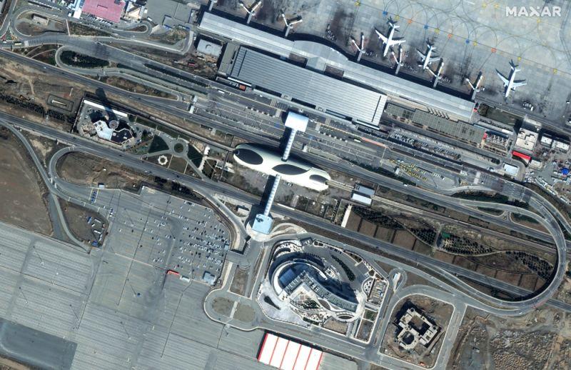 Аэропорт Тегерана, Иран. 29 февраля 2020 года.