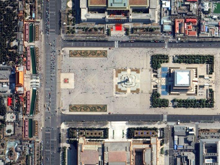 Площадь Тяньаньмэнь в Пекине, Китай. 21 февраля 2019 года.