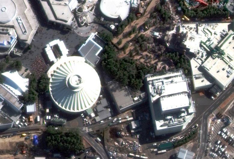 Диснейленд в Токио, Япония. 1 февраля 2020 года.