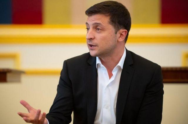 Зеленский предложил Раде изменить закон об СБУ