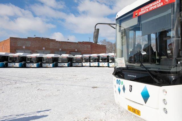 Новые автобусы адаптированы для маломобильных граждан.