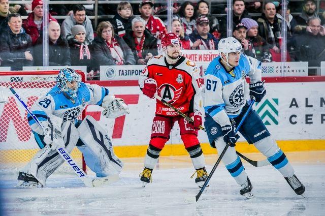 Сибиряки одержали победу со счётом 2:1.