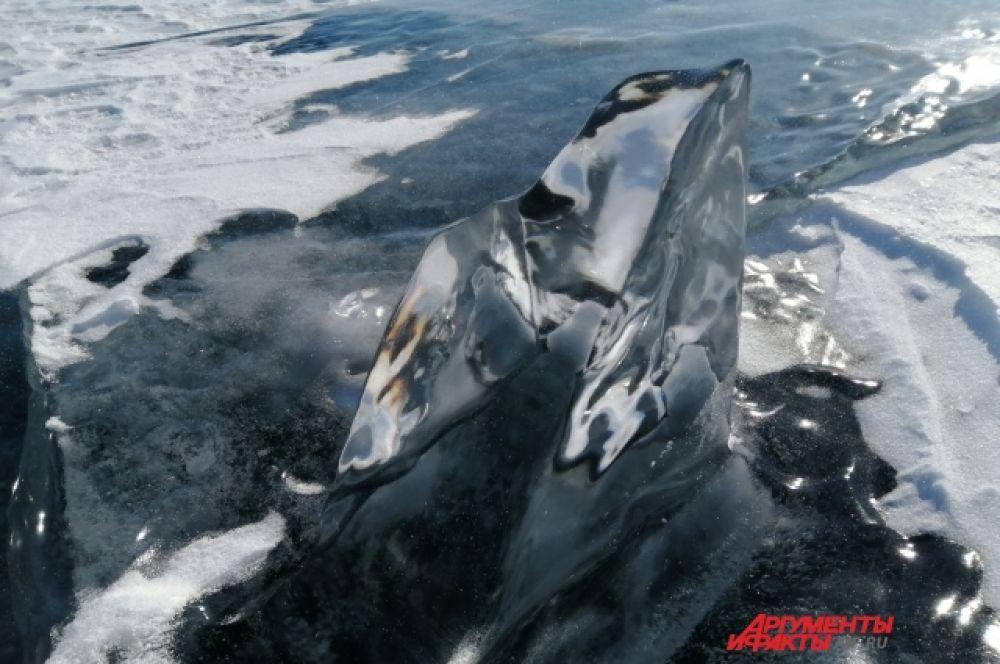 Ледяные леденцы Байкала.