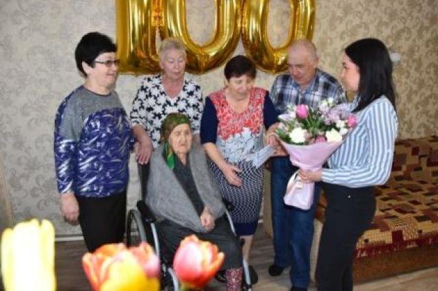 Оренбурженке Асме Музафаровой исполнилось 100 лет.