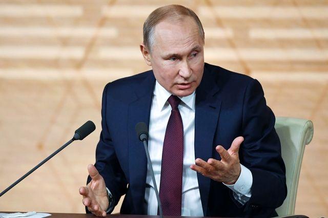 США хотят контролировать Украину за деньги РФ, - Путин