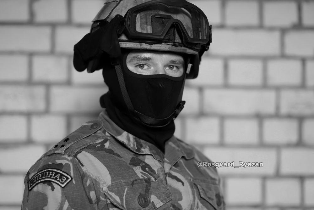 Офицер СОБР. Тактическое занятие