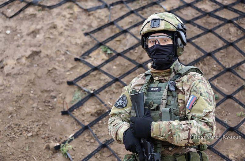 Офицер СОБР. Огневая подготовка