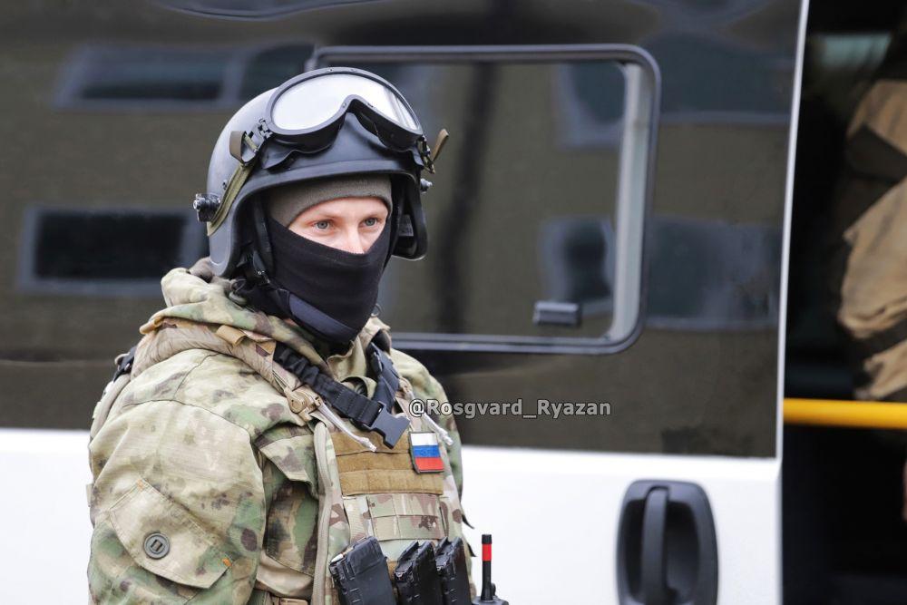 Офицер ОМОН. Учебная спецоперация «Штурм»