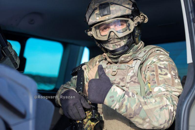 Офицер СОБР. К штурму готов!