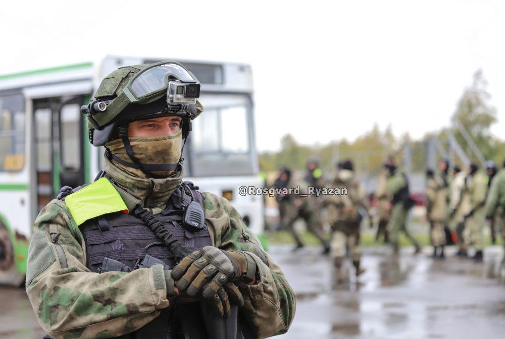 Офицер ОМОН. Занятия по тактической подготовке