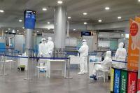 В аэропорту все спокойно.