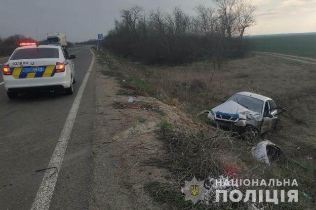 В Одесской области произошло ДТП: один человек погиб, трое получили травмы