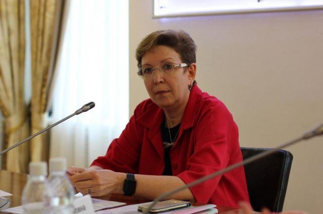 Ольга Кузнечевских назначена на должность освобожденного замгубернатора