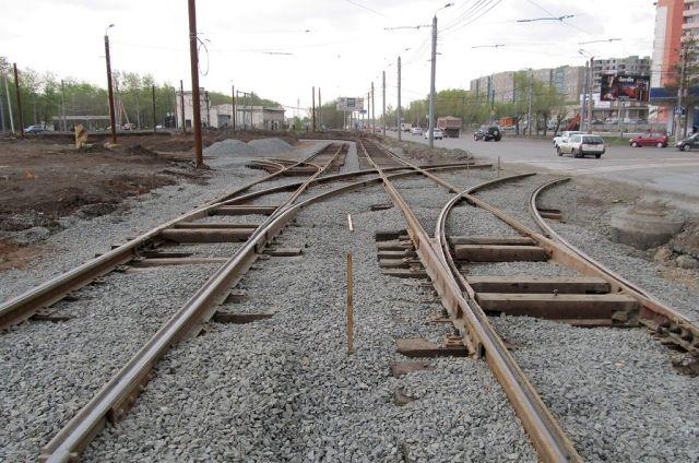 Кольцо, где когда-то разворачивался копейский трамвай в Челябинске, переделали в 2011 году.