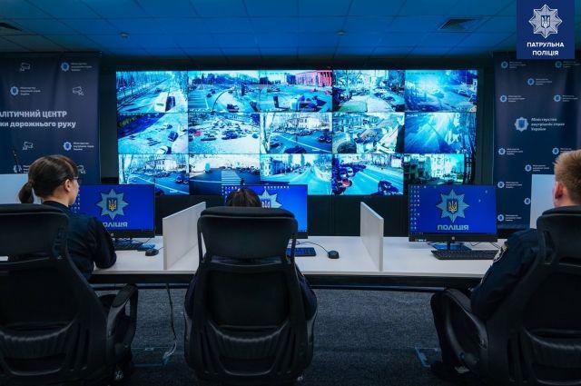 В Киеве установлено 20 камер для фиксациии нарушений ПДД: адреса