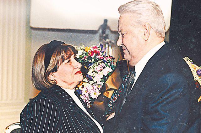 После записи прощального обращения Б. Ельцина. 31 декабря 1999 г.