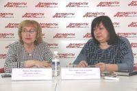 Ирина Шливинскайте и Виктория Фирстова.