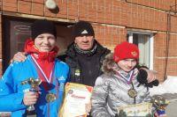 Каврыжникова София, Лагно Диана и тренер Сергей Ковалев