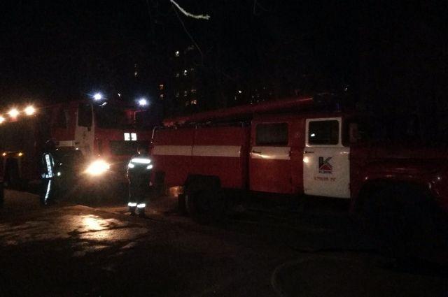 В Кривом Роге во время пожара погиб человек