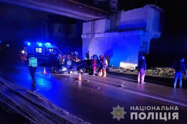 Во Львовской области произошло ДТП: один человек погиб