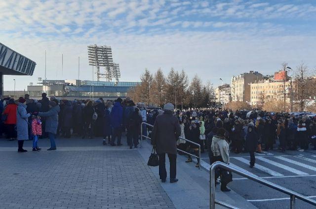 В городе запретили массовые мероприятия.
