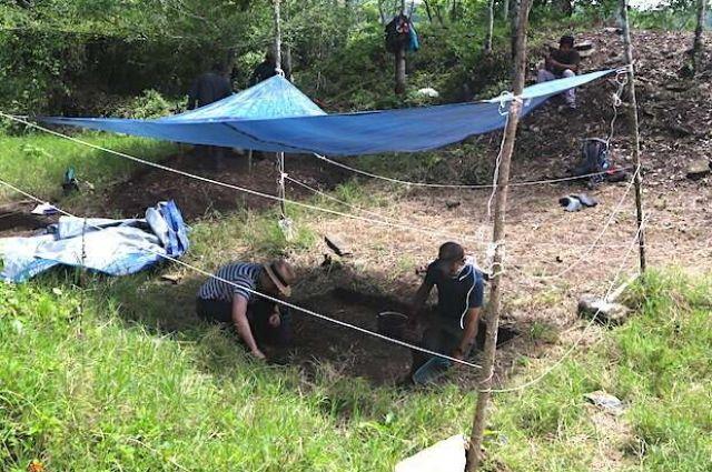 В Мексике ученые нашли самую древнюю «футбольную» площадку