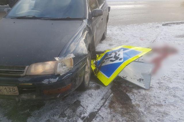 За рулём была 36-летняя женщина, лишённая водительских прав.
