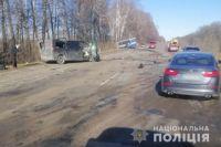 ДТП в Сумской области: погибли три пассажира