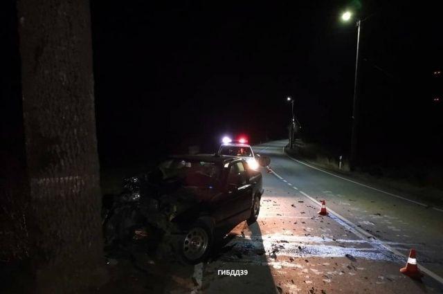 В Багратионовском районе насмерть разбился водитель без прав
