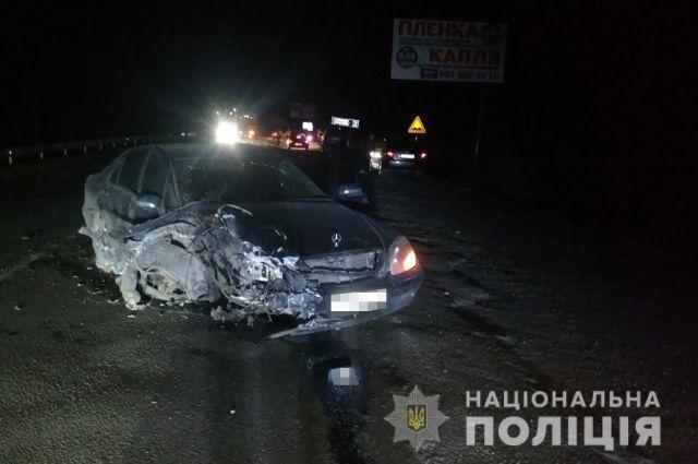 В Запорожской области водитель в наркотическом опьянении устроил ДТП