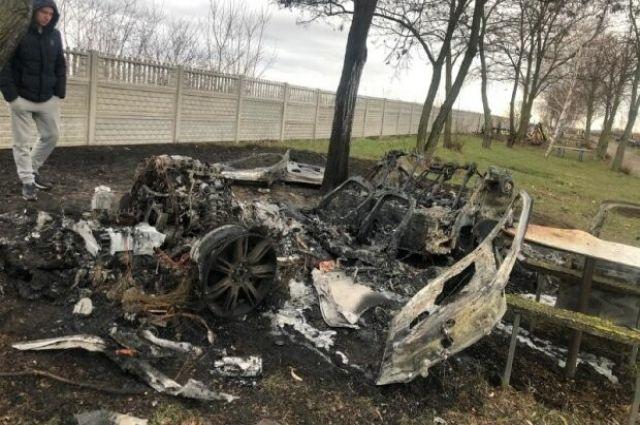 В Киевской области разыскивается мужчина: его авто нашли сгоревшим