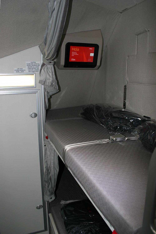 Для обеспечения отдыха отсеки могут иметь улучшенную звукоизоляцию по сравнению с пассажирским салоном.