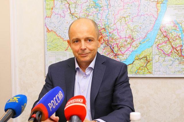 Сергей Сокол покидает свой пост председателя заксобрания Иркутской области.
