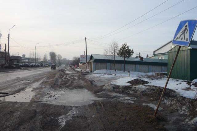 Как увидеть этот покосившийся знак пешеходного перехода на ул. Можгинской?