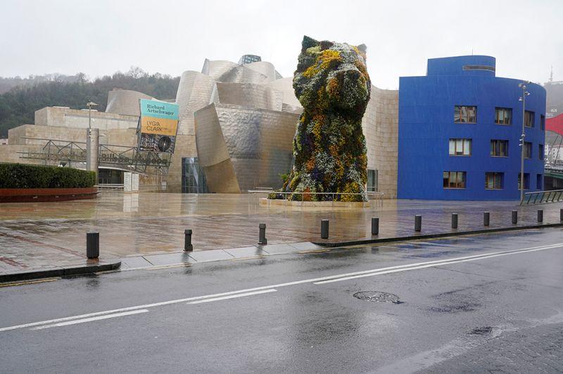 Музей Гуггенхайма в Бильбао.