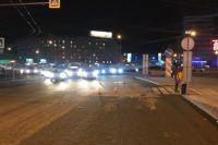 Авария произошла на пешеходном переходе, полиция задержала водителя.