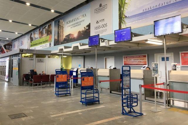 В аэропорту Ижевска из-за коронавируса усилили меры профилактики