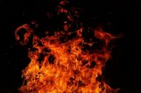 Из загоревшегося дома по улице Даргомыжского в Тюмени спасли двух детей