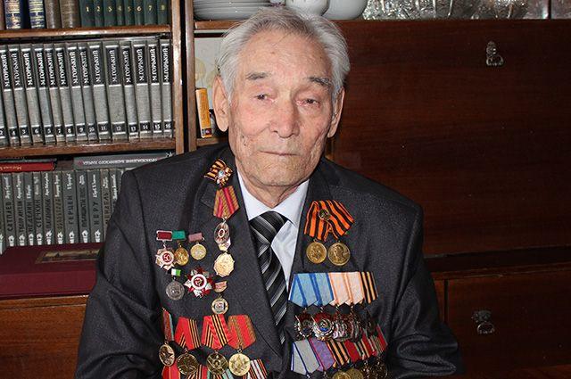 Сагит Гатиятович был единственным участником парада в честь 70-летия Победы из Башкирии.