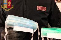 В Италии украинка незаконно продавала медицинские маски