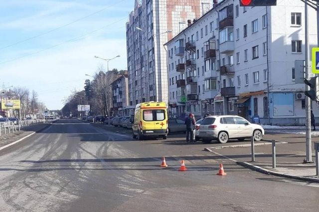 ДТП произошло на улице Маршала Рыбалко 18 марта.