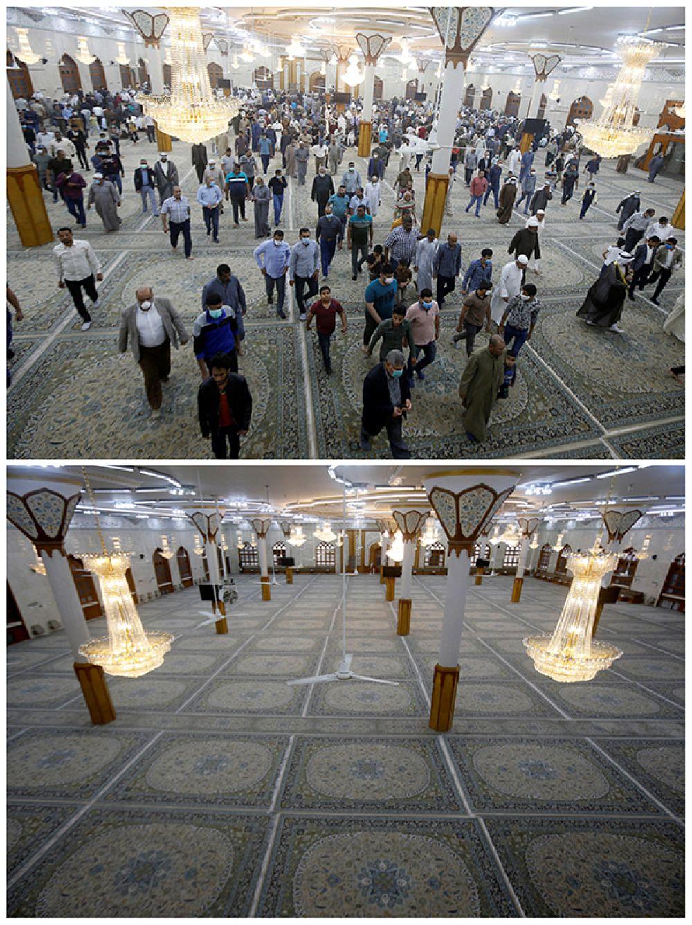 В Большой мечети Басры, Ирак.