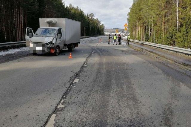 Авария произошла на автодороге «Шарья–Пермь» днём 18 марта.