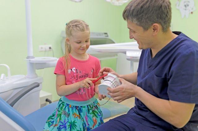 Детская стоматология - не страшная и безболезненная.