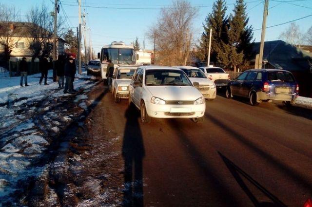 В Бугуруслане из-за аварии пострадало 2 человека