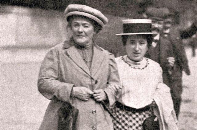 Клара и Роза.