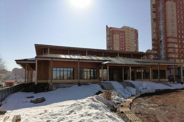 В Оренбурге Центр восточных единоборств достроят к ноябрю.