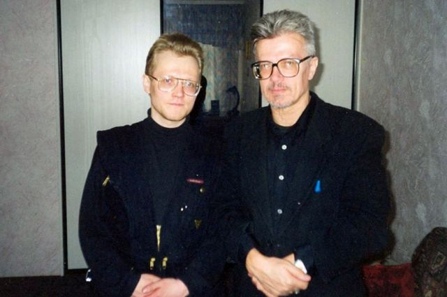 Евгений Берсенев и Эдуард Лимонов