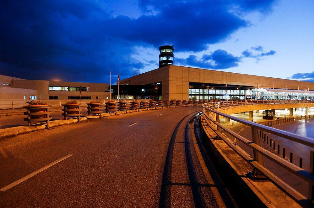 Международный аэропорт Бейрута, Ливан.