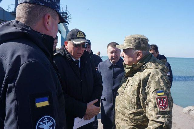 Бердянский порт рассматривается как потенциальное место для базы ВМС